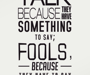 fools, men, and words image