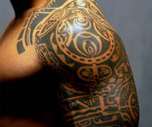 tattoo, Maori, and the rock image