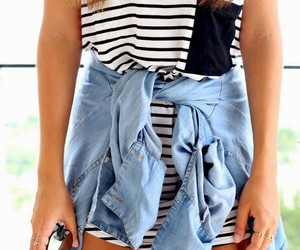 fashion, jeans, and cute image