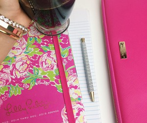 agenda, drink, and kate spade image