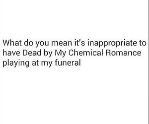 my chemical romance, funny, and joke image