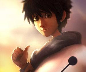 disney, big hero 6, and hiro hamada image