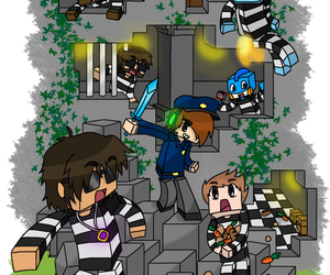 skydoesminecraft, deadlox, and jeromeasf image