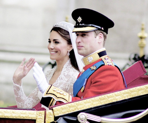 kate middleton, prince william, and royal wedding image