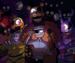 Bonnie, foxy, and Freddy image