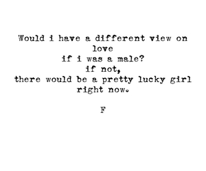 girl, if, and lucky image