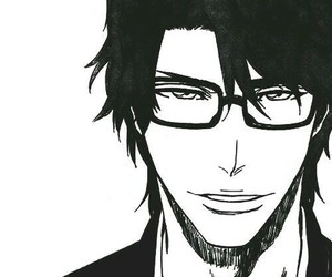 bleach, aizen, and anime image