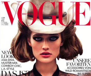 vogue, Toni Garrn, and model image