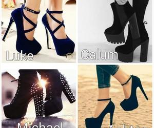 OMG, shoes, and luke hemmings image