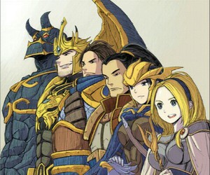 lol, lux, and garen image
