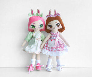 alice, doll, and art image