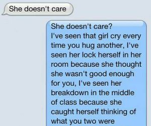 care, sad, and quote image