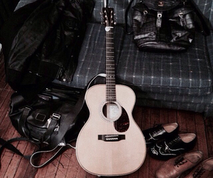 cody simpson, guitar, and shoes image