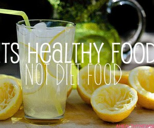 fitness, lemon, and food image