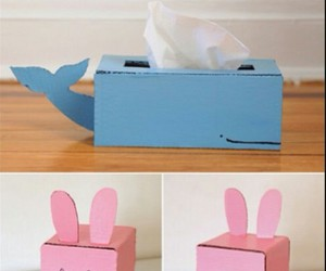 diy, box, and tissue image