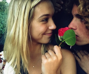 love, couple, and alexis ren image