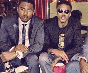 handsome, trey songz, and august alsina image