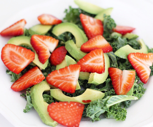 food, green, and strawberry image
