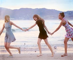 beach, fashion, and dress image