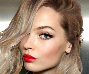 makeup, make up, and model image