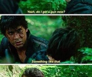 the 100, bellamy, and funny image