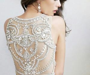dress, Prom, and diamond image