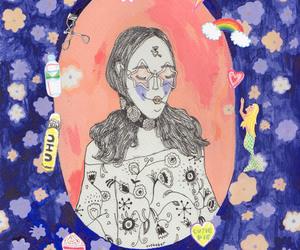illustration, girlsgetbusy, and evebaker image