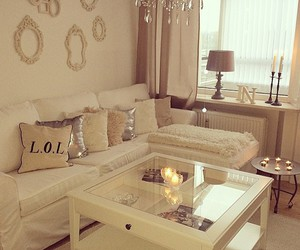 home, white, and beautiful image