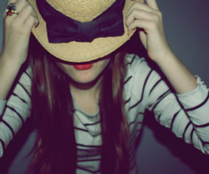 girl, hat, and cute image