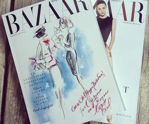 magazine, bazaar, and fashion image