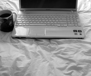 skins, coffee, and bed image
