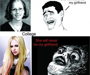funny, Avril, and Avril Lavigne image
