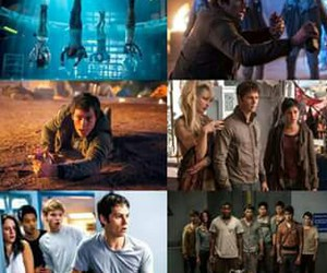 newt, teresa, and maze runner image
