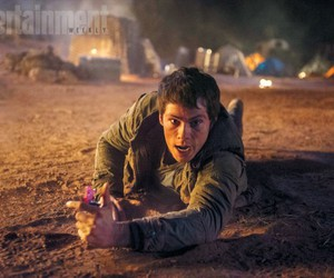 dylan, maze runner, and scorch trials image