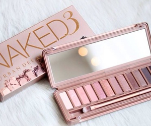 makeup, pink, and naked image