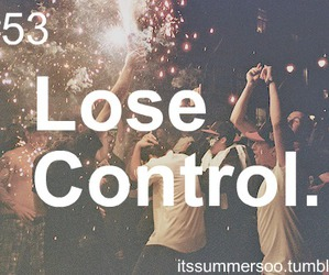 party and lose control image