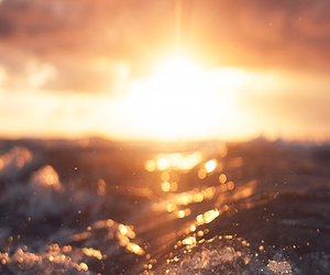 sea, beautiful, and sun image