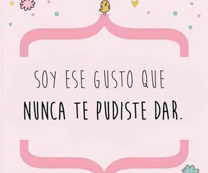 love, frases, and mujer image