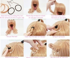 diy, hairstyle, and halloween hairstyle image