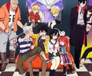 anime, staz, and blood lad image