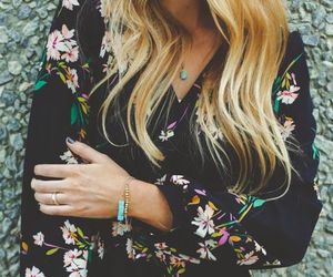 dress, fashion, and blonde image