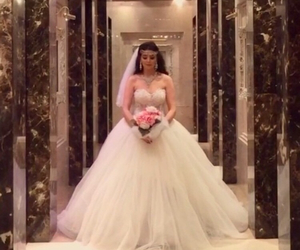 bride, dress, and Dubai image
