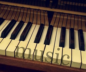 key, life, and music image