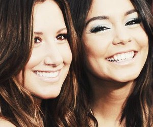 ashley tisdale, smile, and vanessa hudgens image