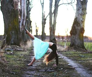 acrobatic, backbend, and balance image