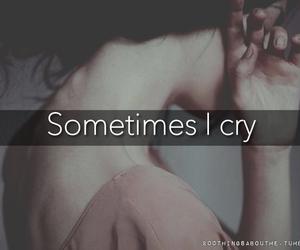 cry, girl, and life image