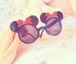 sunglasses, disney, and glasses image
