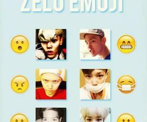kpop, emoji, and zelo image