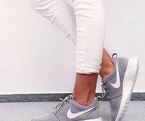 grey, pretty, and shoes image