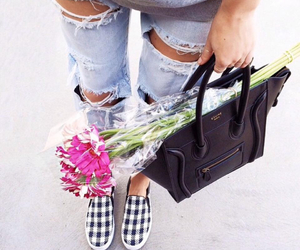 fashion, flowers, and style image